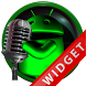 Poweramp Widget Green Droid 5 by Maystarwerk Skins & Widgets Vol.2