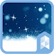Beauty snow Launcher theme by SK techx for themes