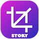 Upload Full Size No Crop Photo On Instagram Story by Instazz - Photo Editing App Company