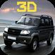 UAZ УАЗ вне дорожные гонки 3D by W-H-B-D