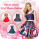 Short Dress Photo Suit : Girls Photo Editor by Tools Mixer