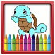 Coloring Book for Pokem by Aladdin Coloring