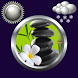 Zen Clock And Weather Widget by Compass Clock and Weather