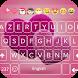 I Love You Keyboard Theme - Pink Heart keyboard by GOHO Dev Team
