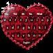 Rose Love Keyboard by Dream Keyboard Creator