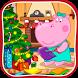Kids handcraft: Snowflakes by Hippo Nursery Rhymes