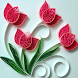 Paper Quilling Design Step by Step by prakasapp