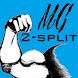 Muscle Gains 2-split training by ThomasTJ
