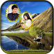 Natural Dual Photo Frame by VVC Infotech