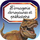 Imagerie dinosaure interactive by Fleurus Editions