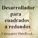 Desarrollador cuadrado redondo by Gellis apps