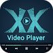 XX Video Player – HD Video Player by Cheeseing Delight App Studio