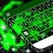 Neon Splatter Free Keyboard by T-Me Design Studio