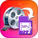 Dual Mp3 Converter Video to Mp3 Maker by Photo Video Art Editor