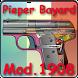 Pistolet Pieper Bayard 1908