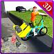 Kids Riding Garbage Bicycle by Gam3Dude