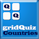 World Countries on gridQuiz by Bucks Educations