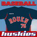 Rouen Huskies Baseball by AppQuartz