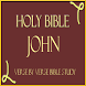 HOLY BIBLE: JOHN, STUDY APP by Charleston Shi LLC