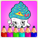New Coloring Book For shopkins by Kidso Coloring Games