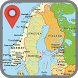 Norway Map by shooter bub for kids Free