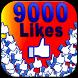 9000 likes : Pro Fb Liker tips by Lopardo Clark