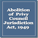 Abolition of Privy Council Act by Rachit Technology