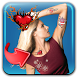 Color Heart Tattoo Pic Editor by Trendy App Mania
