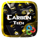 Carbon Tech Go Launcher Theme by Freedom Design