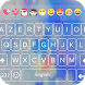 Cherry Blossom Emoji Keyboard theme by GOHO Dev Team