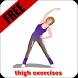 thigh exercises by Kanlaya