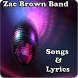 Zac Brown Band Songs&Lyrics by andoappsLTD