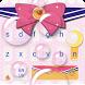 Pink Bow Cartoon Cute Girl's Clothing Keyboard