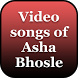 Video songs of Asha Bhosle by Quincy Hardin
