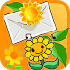 Sunflowers Live Widget by The World of Digital Clocks