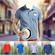 Man Casual T-shirt Photo Maker by clickheroapps