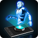 Hologram 3D Robot Simulator by Vasya Bond