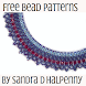 Bead Crystal Necklace Pattern by Sandra D Halpenny
