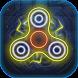 Fidget Spinner - Laser Hand Spinner Neon Glow by Star of Heroes