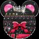 Minny Cute Pink Bowknot Keyboard by Bestheme Boutique keyboard
