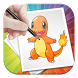 How To Draw Pokemon Characters by Snow Dev Inc.