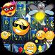 Firefly Emoji Fantasy Keyboard by Keyboard Theme Creator