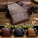 Man's Bags Design