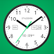 Light Analog Clock LW-7 PRO by StyleSeven.com