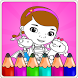 Coloring Book For mcstuffins by Kidso Coloring Games