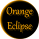 Orange Eclipse Launcher Theme by Train88