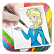 Draw Coloring Book For Barbie by Lucy Tech