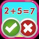 Fun Math - true or false by King4Games