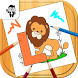 Letters Kids Coloring Book by Prophetic Games