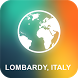 Lombardy, Italy Offline Map by EasyNavi